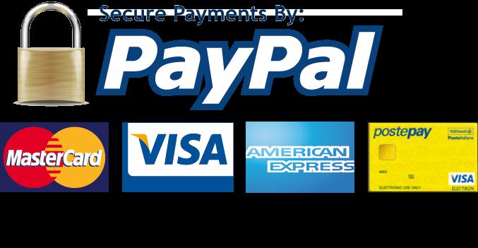 Paypal, carte di credito e bonifico bancario